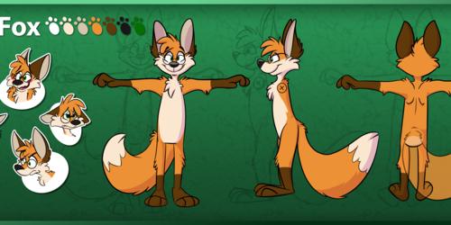 Kip Fox Ref Sheet