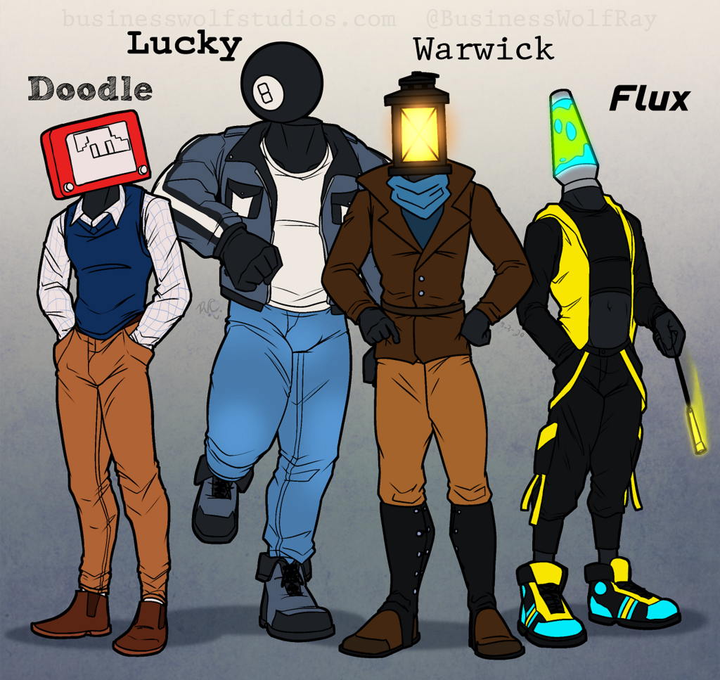 Object Head Crew Redux