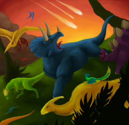 Dinorun 2 Kickstarter Art Contest Entry