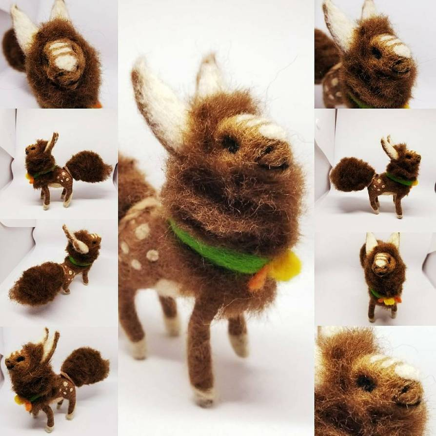 Featured image: Needle Felting - Fawn the Fen