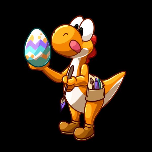 Easter Yoshi