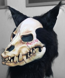 'Cursed' Skull mask commission for DRAC0LYCAN