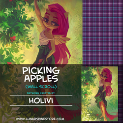 Picking Apples by Holivi