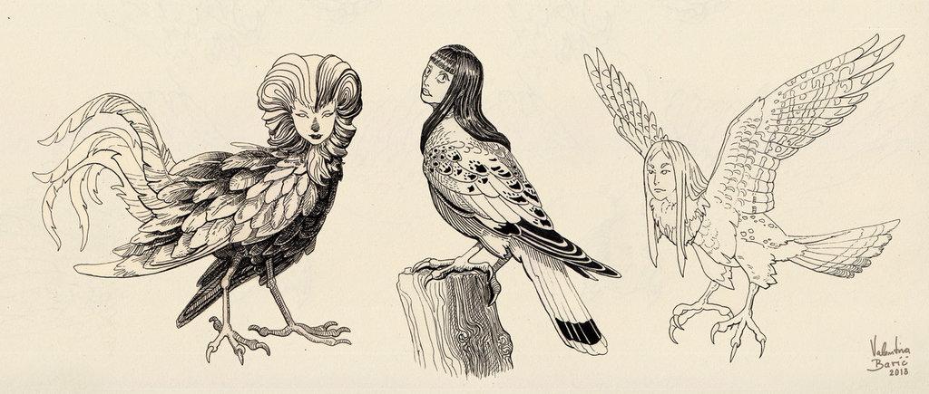 Harpy trio
