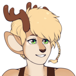 Poppy the Faun commission