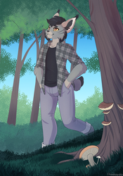Through the woods - Commission
