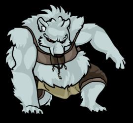 Polar Werebear Battle Graphic (RMXP)
