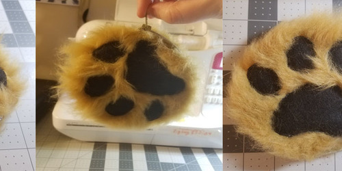Paw Zipper Pouch - FOR SALE!