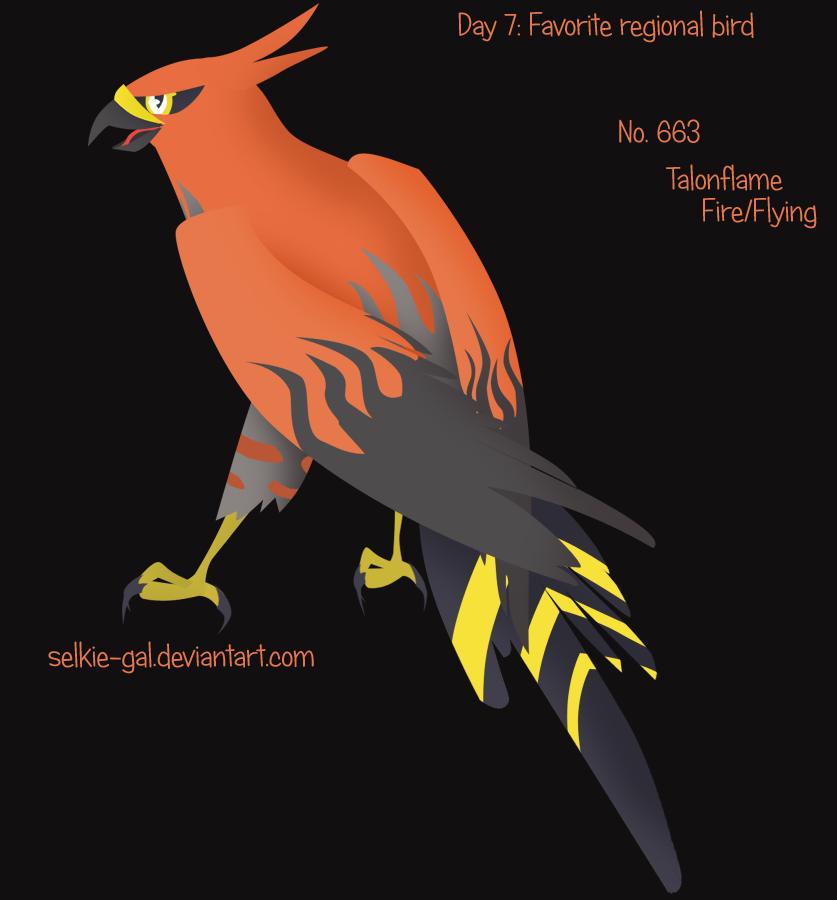 Pokeddex 2015 07: Talonflame