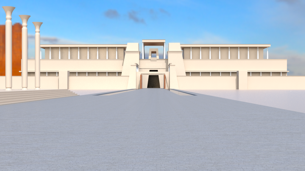 Most recent image: Ancient Egyptian Temple WIP