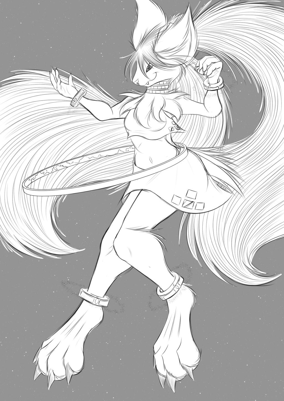 Halo Hoop - Sketch