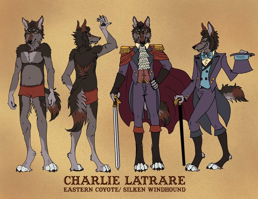 Charlie Latrare reference sheet