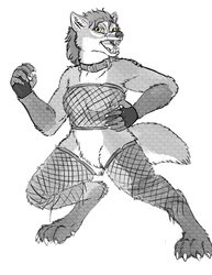 Stylus Coms: New Aeryn-werewolf