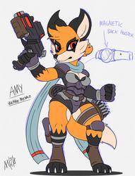 Amy the Vulpine Menace