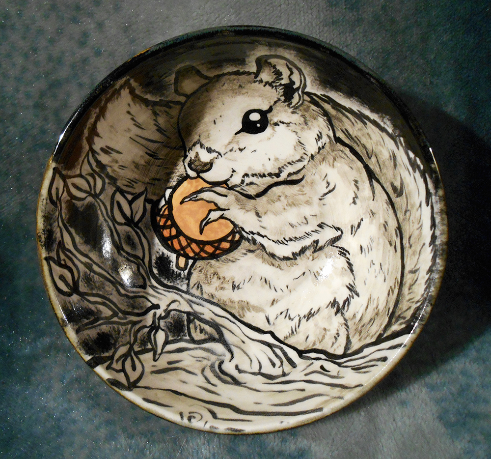 squirrel bowl tradition Serving bowls & baskets serving accessories serving utensils flatware flatware sets open stock flatware  gold squirrel w/acorn decor 7-in $1199 white ceramic pumpkin decor 48-in $599  thankful traditions home decor from at home visit your local store for ideas and to purchase.