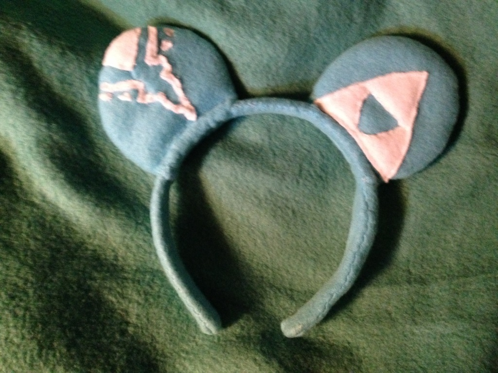 Breath of the Wild Link Custom Mickey Mouse Ears - made for self