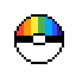 Rainbow Pokeball