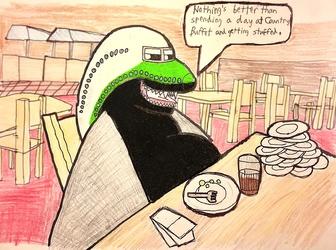 Manny's Buffet Addiction