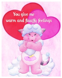 Flaaffy Feelings Pokarebear card