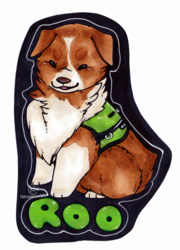 Service Dog Roo [Commission]