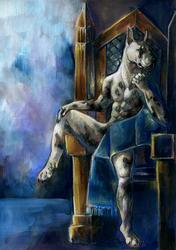 """""""Les Trone Royal en Bleu"""""""