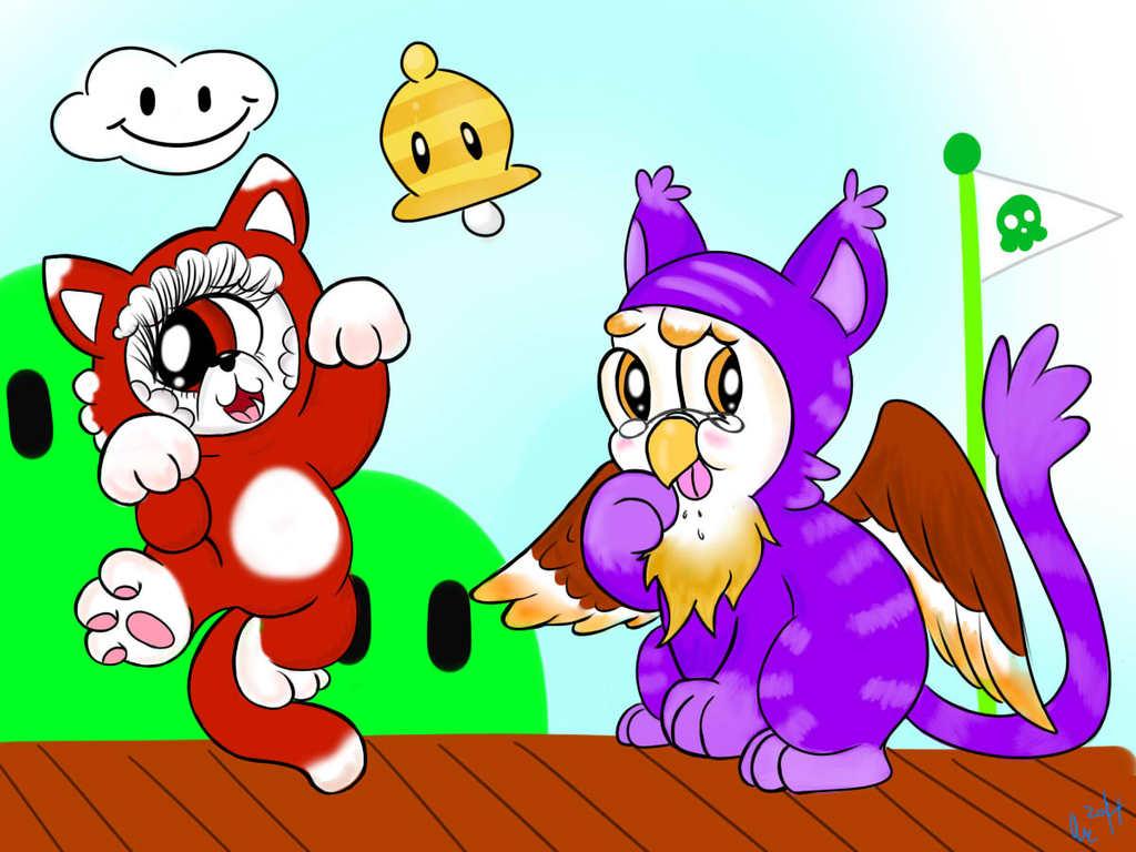 Mario kittens- Boom and Kougrai