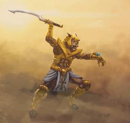 Warrior in the Sandstorm