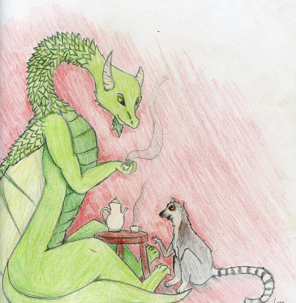 Dragon and Lemur