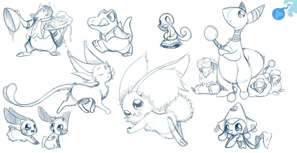 Pokémon Sketch Page