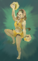Lioness Cheerleader