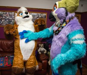 Hug the Inflatable Fox — Weasyl