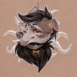 Huskysaur headshot