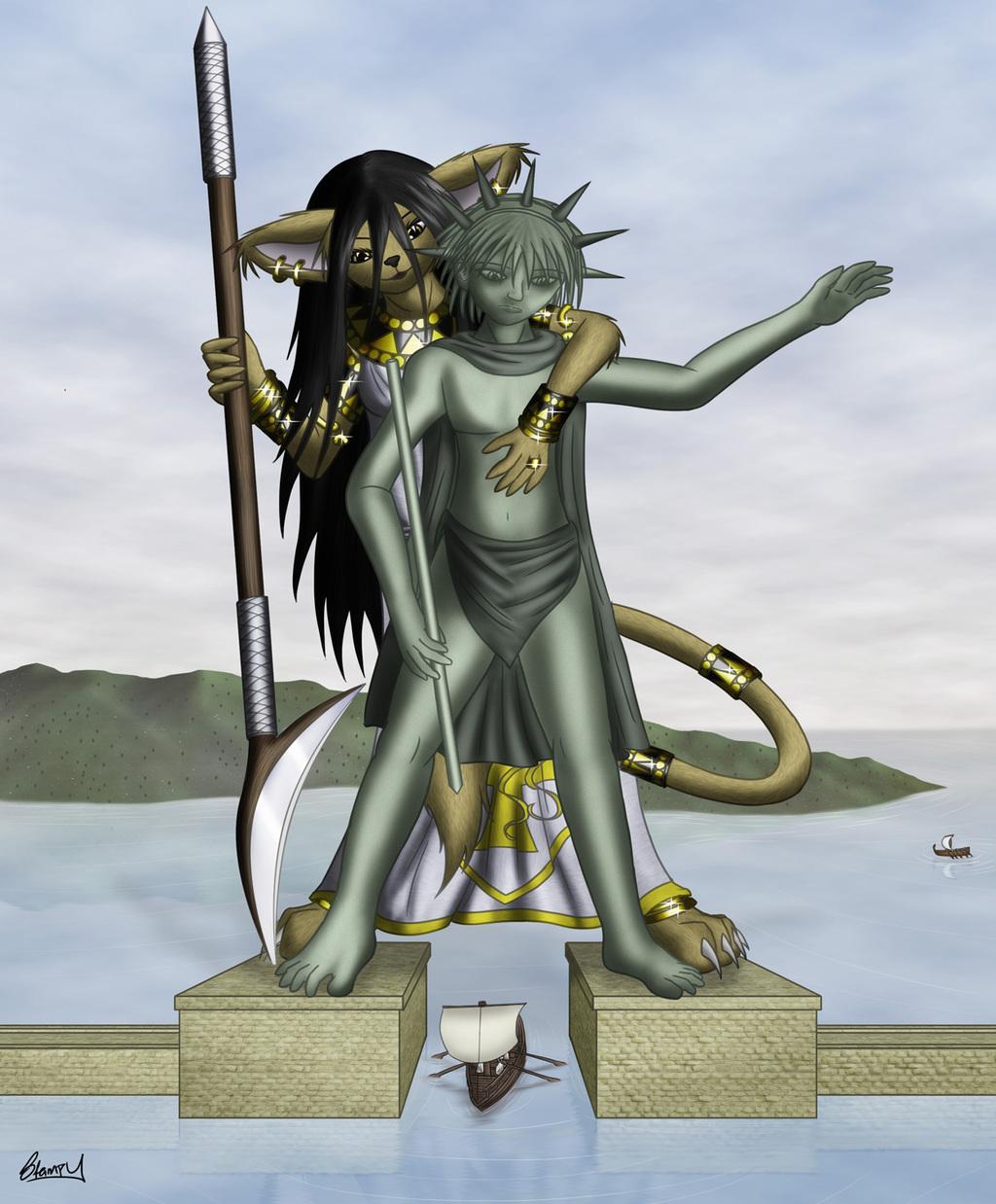 Kiya's Wonders VI - Colossus of Rhodes