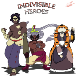The Indivisible Heroes....