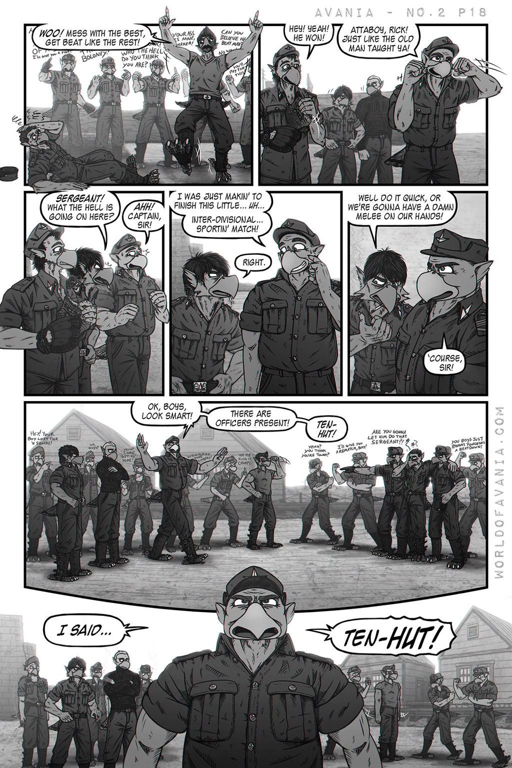 Avania Comic - Issue No.2, Page 18