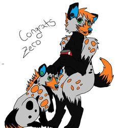 Congrats Zero!