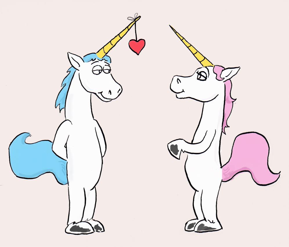 Most recent image: unicorn valentine