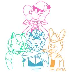 SLARPG: The gang's all here