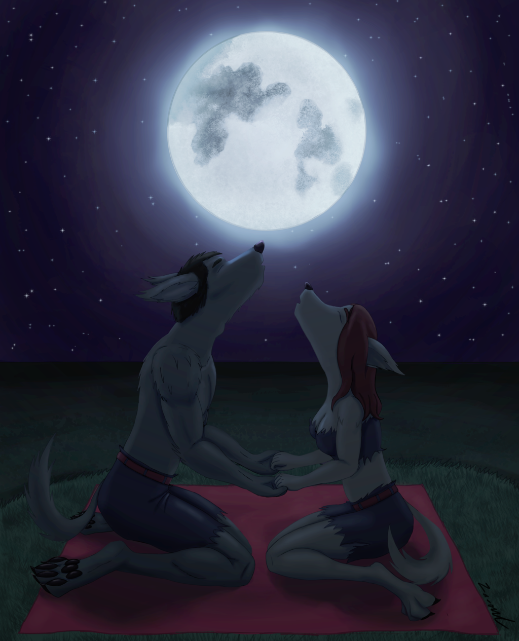[Request] Lovers in the moonlight