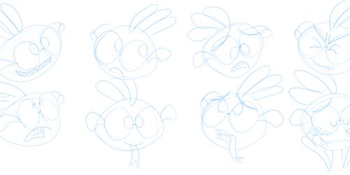 Randy sketches again