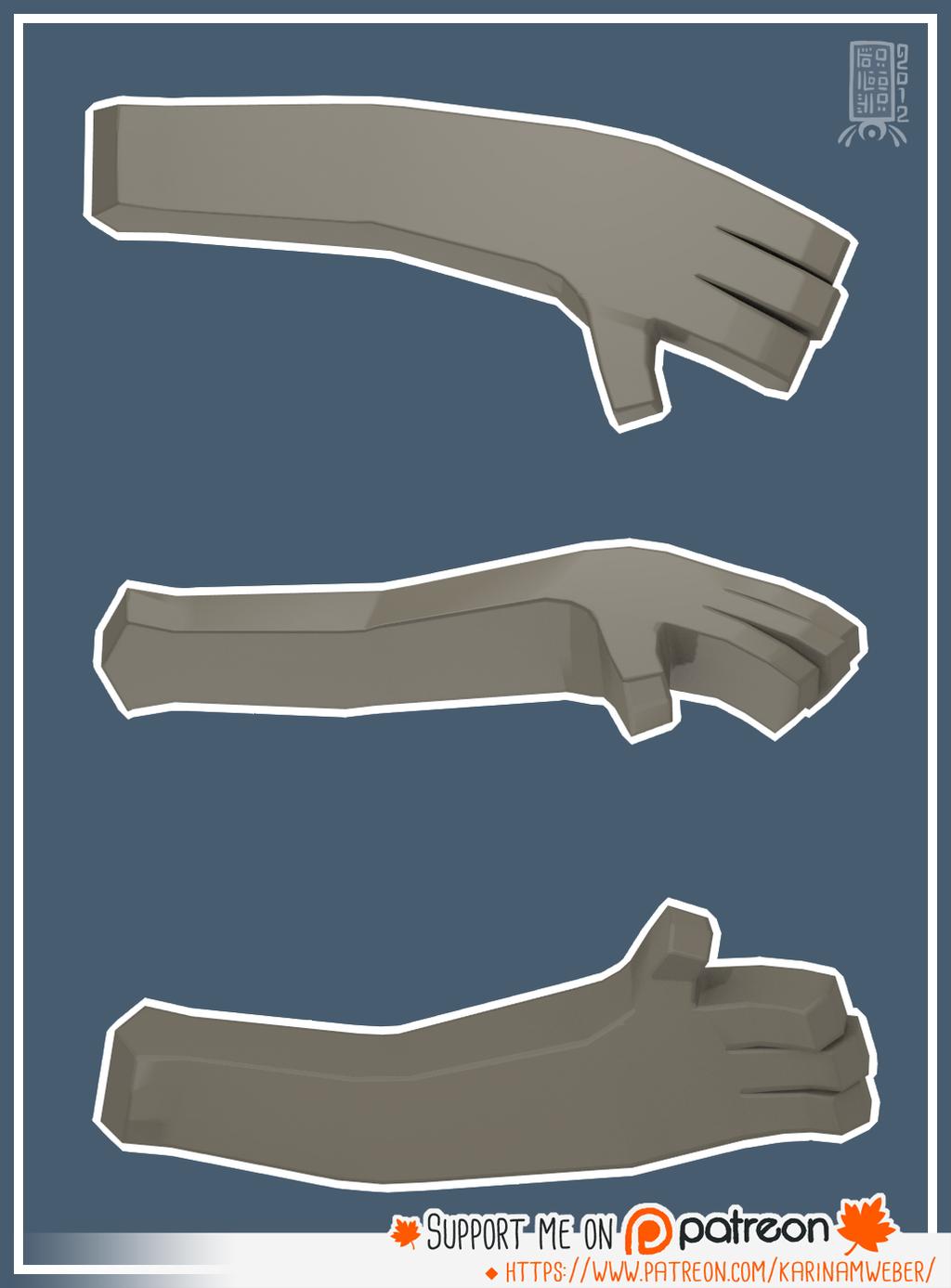 Most recent image: Hand Test I