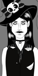 Drawlloween '20 - #1 Witch