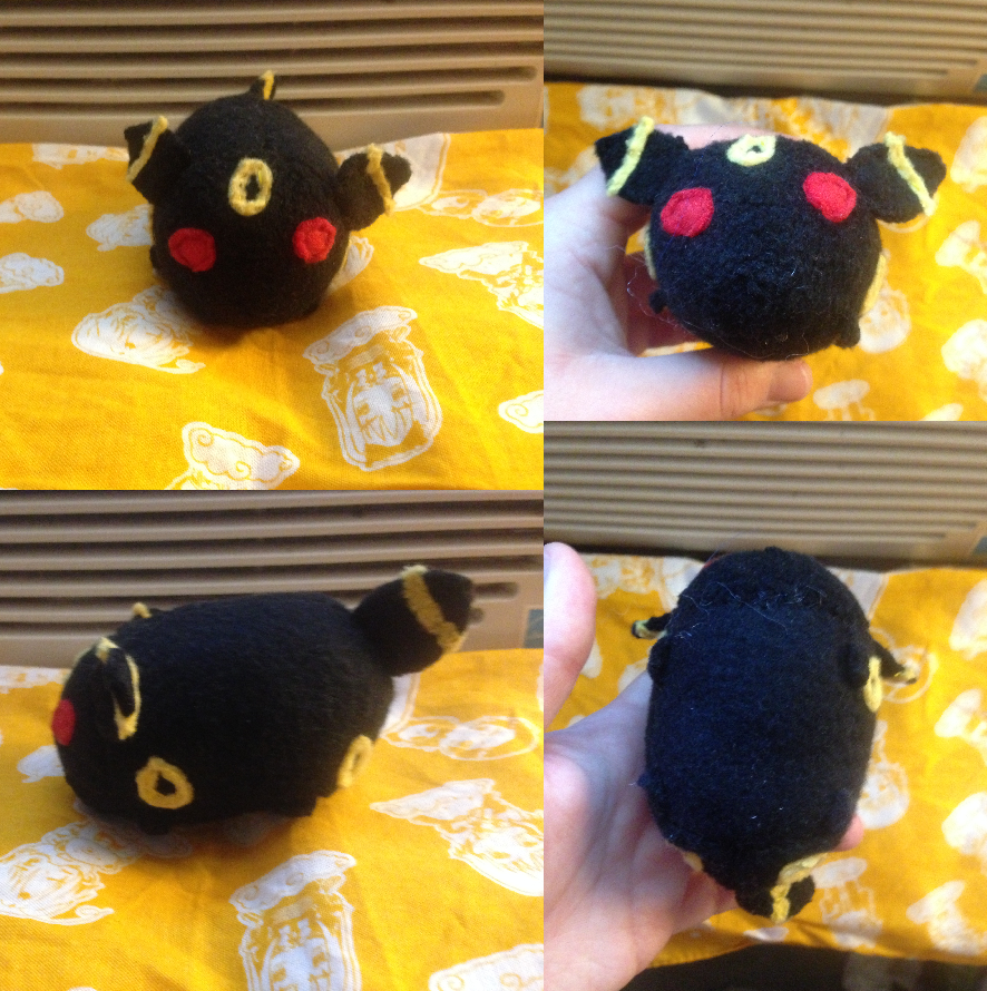 Pokemon Umbreon Tsum made for myself