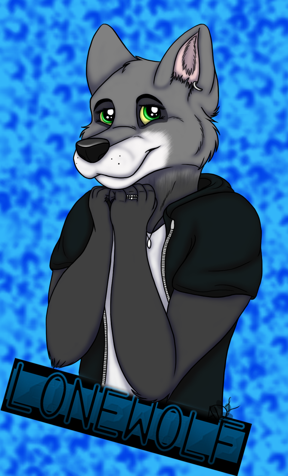 Lonewolf Badge