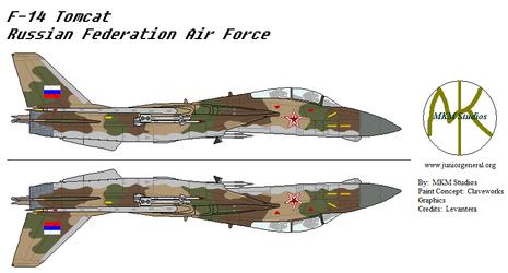 Russian F-14 Tomcat