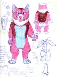 Pink Corgi Concept