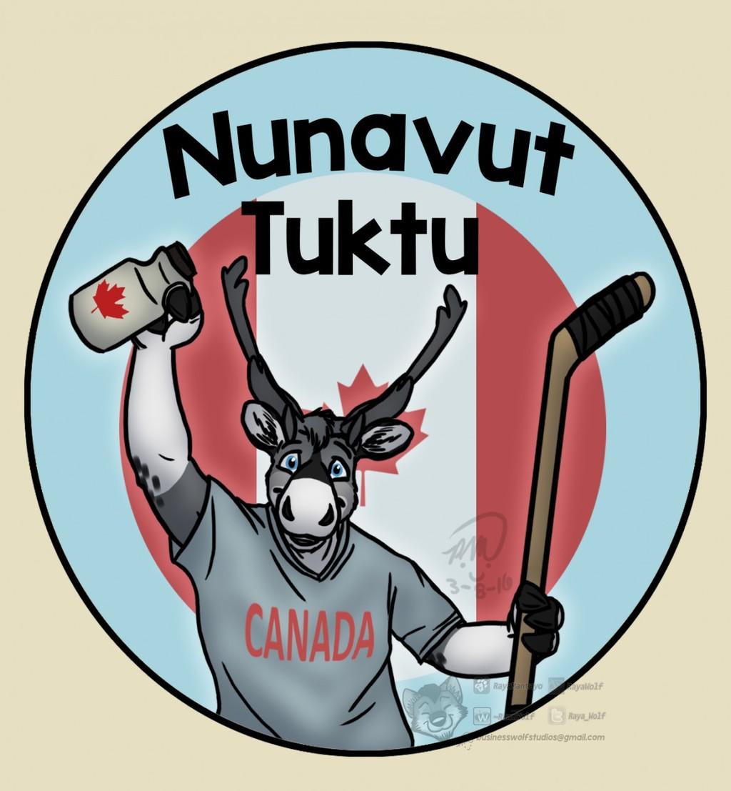 Nunavut Tuktu Badge
