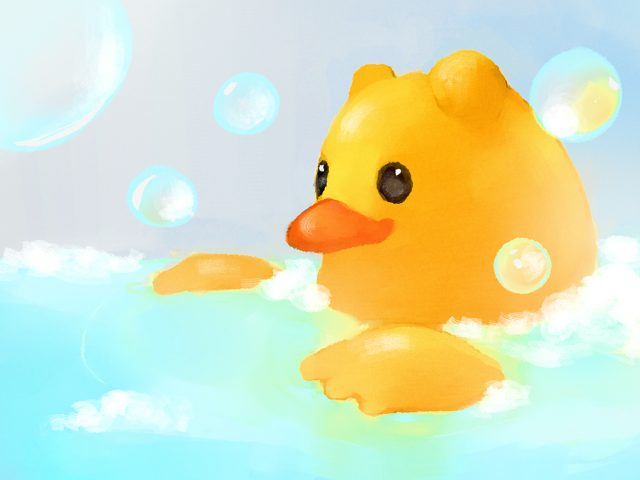 Featured image: Bath time!