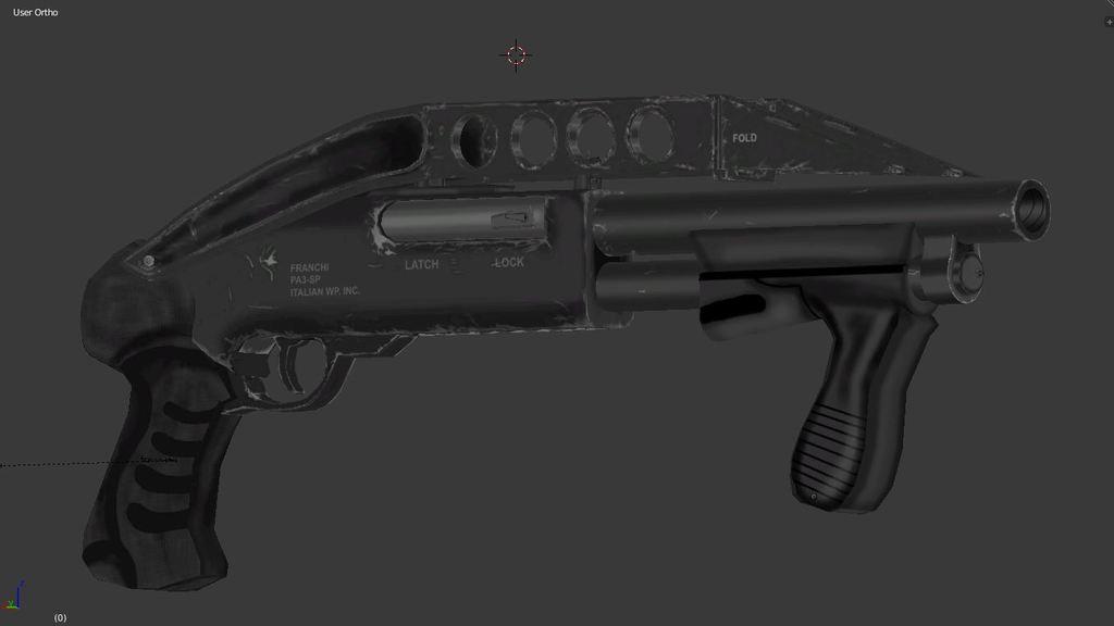 Franchi PA3 Cobalt Pump action shotgun.