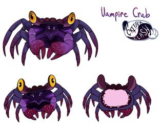 Critter Clash - Crab Creature - Concept Art